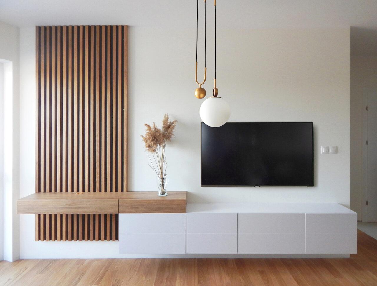Мебел за Дневна соба по нарачка - DM-20049