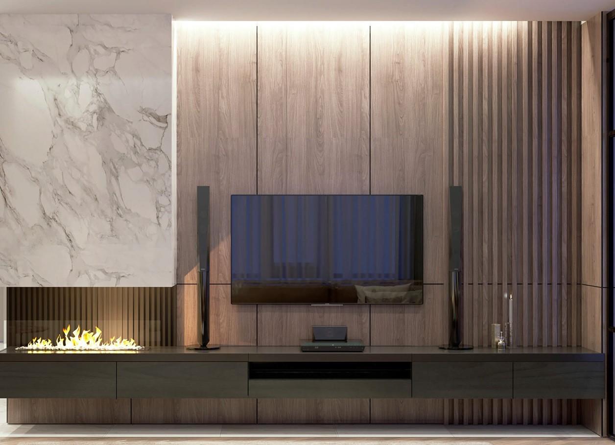 Мебел за Дневна соба по нарачка - DM-20050