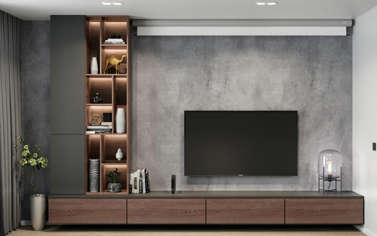 Мебел за Дневна соба по нарачка - DM-20051