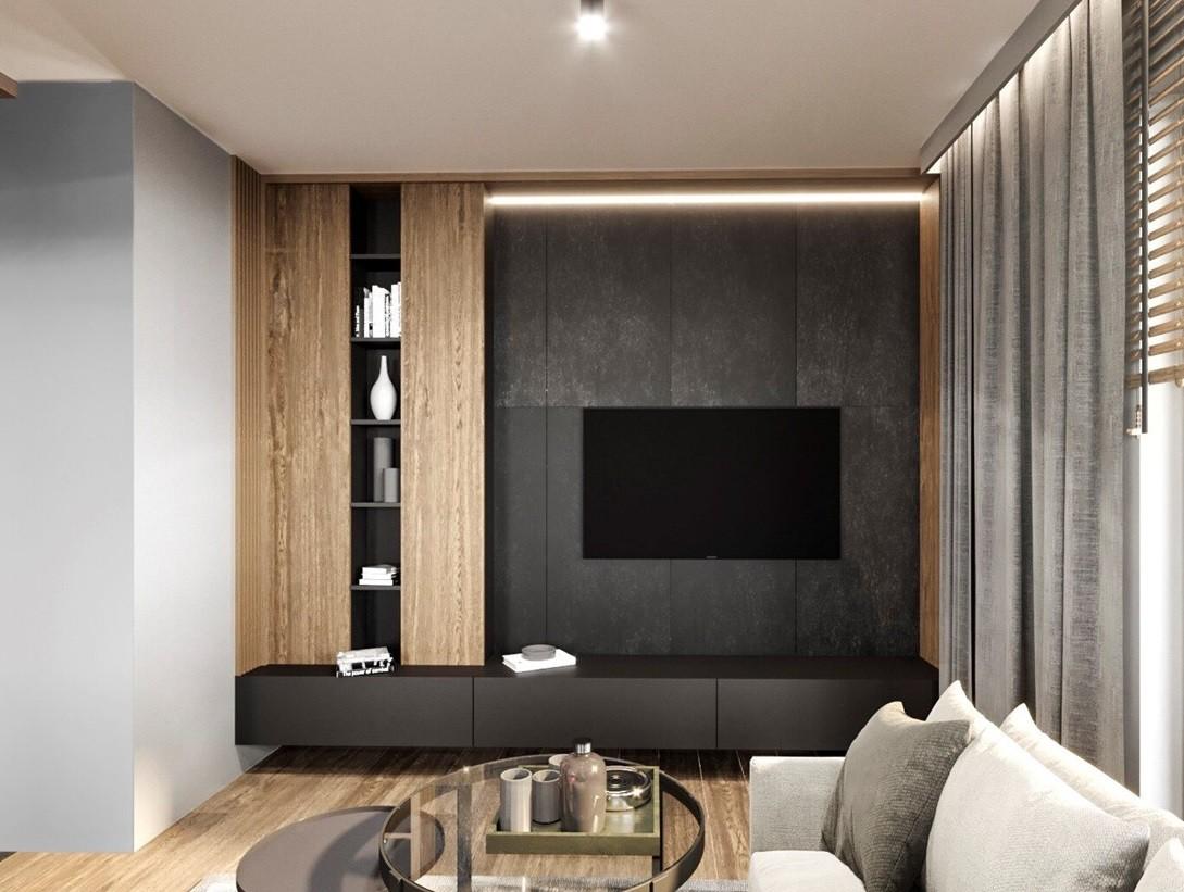 Мебел за Дневна соба по нарачка - DM-20052