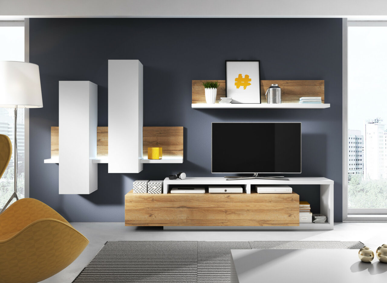 Мебел за Дневна соба по нарачка - DM-20054