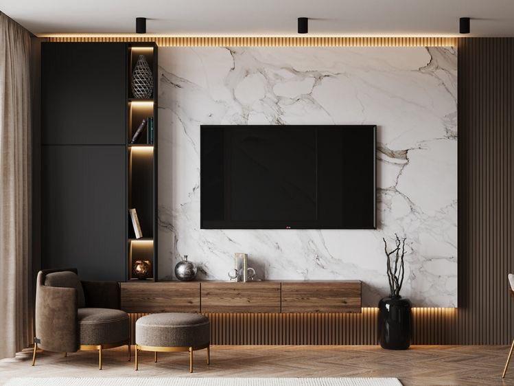 Мебел за Дневна соба по нарачка - DM-20056