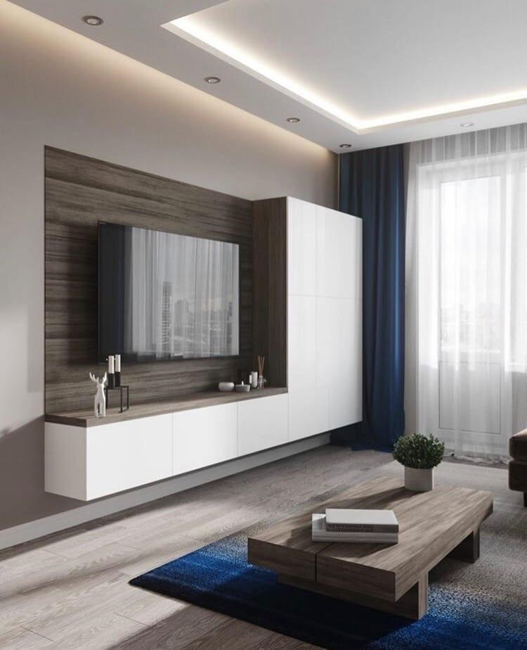 Мебел за Дневна соба по нарачка - DM-20057