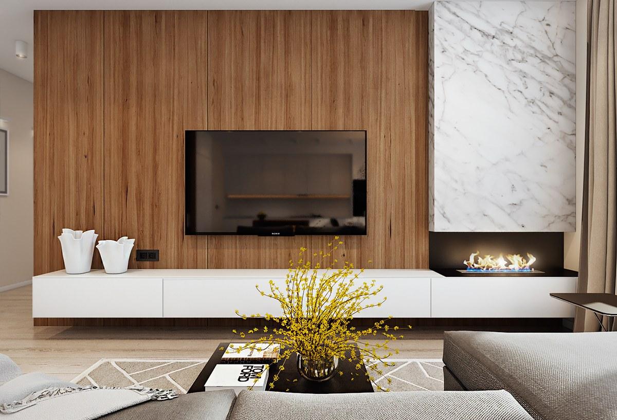 Мебел за Дневна соба по нарачка - DM-20058
