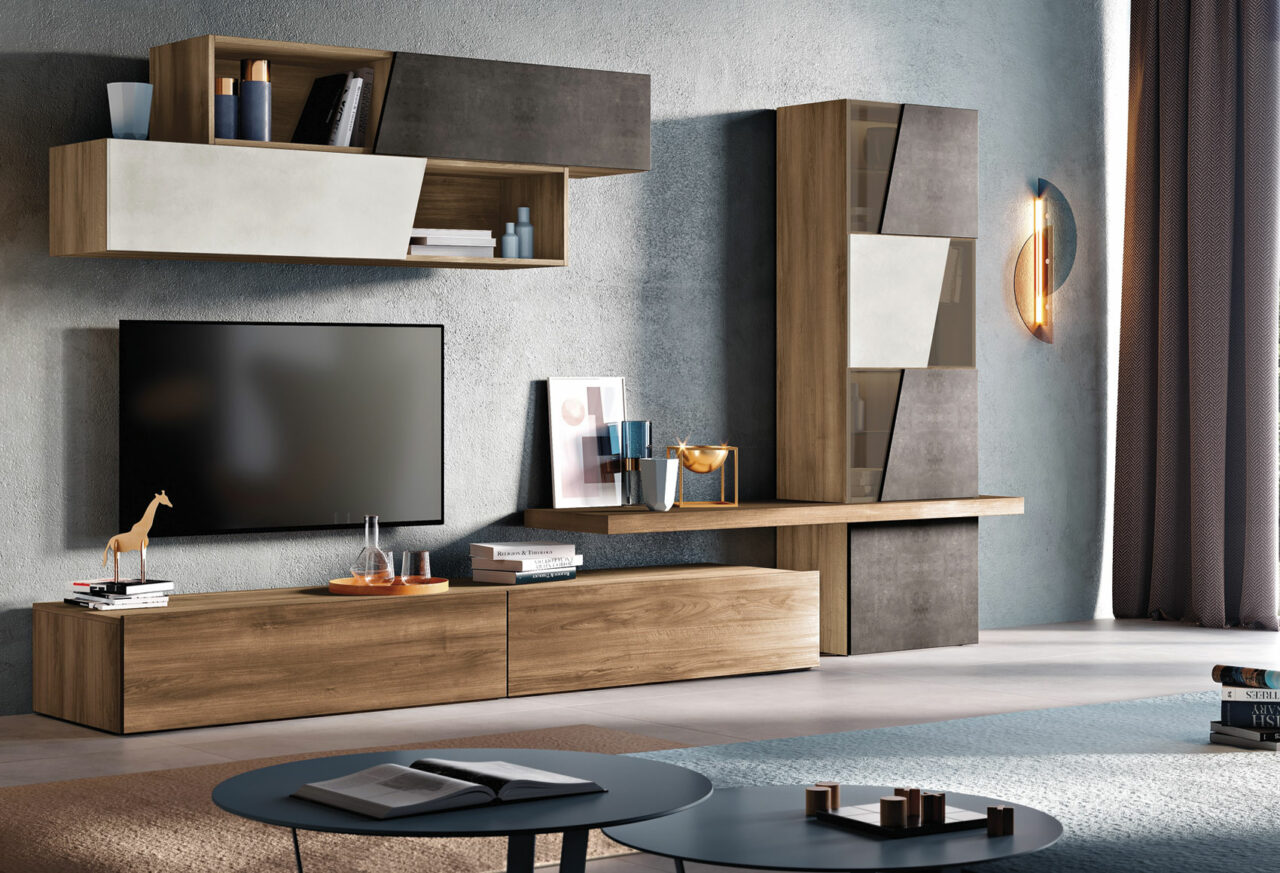 Мебел за Дневна соба по нарачка - DM-20061
